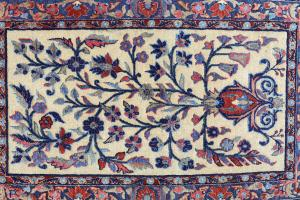 Antique KASHAN - 3'1