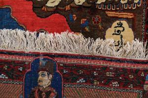 Antique Rare Persian rug - 2.8X3.6