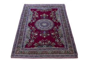 Antique Wool and Silk Tehran 6'1