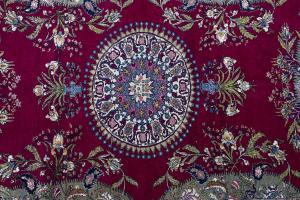 Antique Wool and Silk Tehran 6'1
