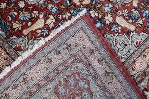 Antique Fine Persian Kashan carpet Kashan 15'4