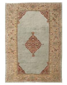 Antique Sultan Abad carpet 10'3