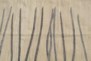 Turkish Kilim Woven with old Wool 10'1