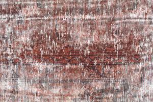 Antique Persian Tabriz over dye carpet 9'7