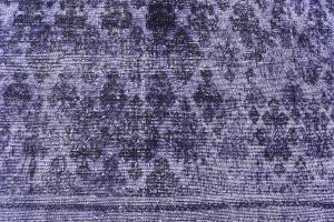Antique Persian Tabriz over dye rug 9'1