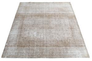 Antique Persian Kashan over dye rug 9'x11'5