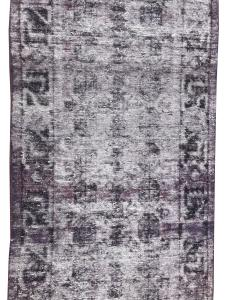 61412 Vintage hand knotted runner 3'3