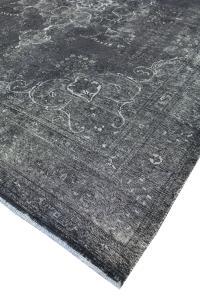 Antique Persian Kerman over dye rug 9'8