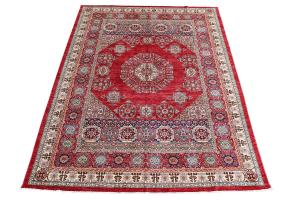 Mamluk design hand made rug -8'11