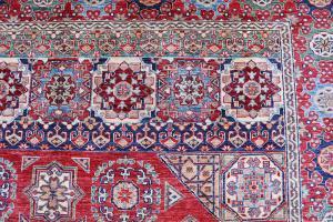 Mamluk design hand made rug -8'11