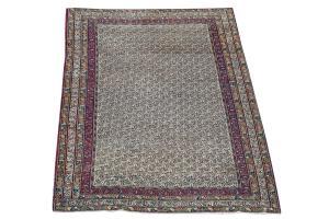 Antique Tabriz rug 4'3