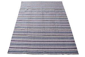 61643 Persian Striped Kilim Rug - 8′3″ × 9′7″