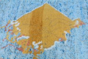 Moroccan Aqua Gold 9'x12'