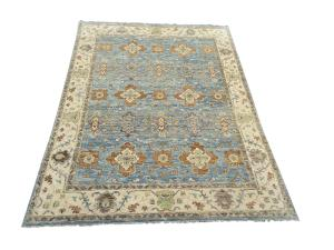 Hand Knotted Oushak Design Wool Rug 8'11