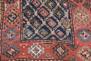 Antique All Wool Runner 3'9