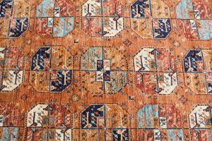 Hand Knotted Rug 13'1