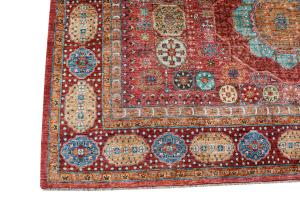 62024 Hand Knotted Multi Color rug 8'2