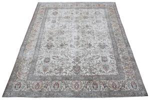 62025 Vintage Persian Tabriz 9'6