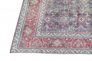 62040 Vintage Mid-Century Khotan Rug -5′4″×8′2″