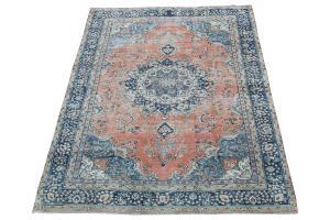 62102 Vintage Persian Tabriz 6'2