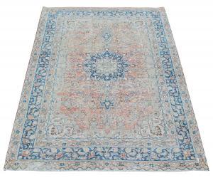 62103 Vintage Persian Tabriz 6'5