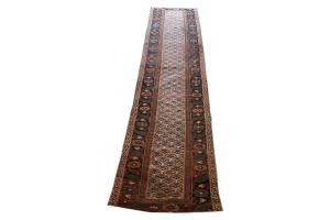 62133 Antique Kurdish runner 15'8