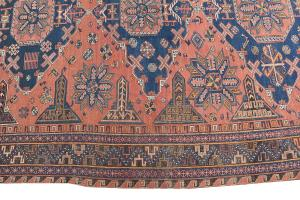 Antique Wool Soumak 9'7