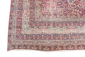 late 19th century Antique Kerman 12'1