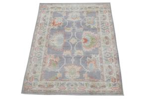 Oushak rug 6'3