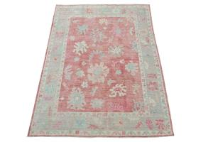 Oushak color rug 7'5