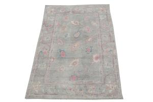 Oushak soft color rug 8'11