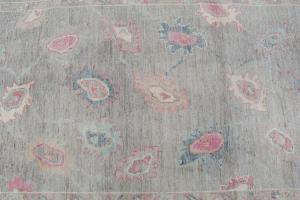 Oushak soft color rug 8'11