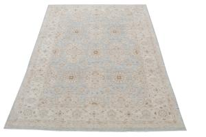 Soft color Afghan rug 9'7