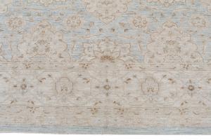 Soft color Afghan rug 9'7