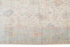 Oushak rug 5'6