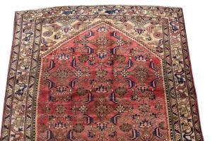 62450 Vintage Persian Hamadan 5'2