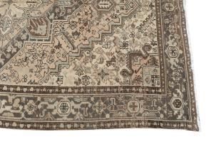 62455 Semi antique Persian Heriz  6'10