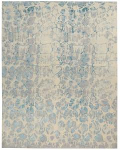 62498 Christopher Guy WOOL & SILK BIRCH 9'x12'