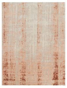 Wool & Bamboo Silk Orange, Beige, Off-White 9'10