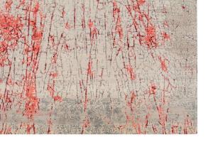 Wool & Bamboo Silk Red, Off-White, Beige, Wine 8'x10'