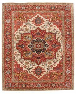 Wool Serapi Rug 9'7