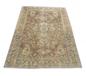 62592 Persian vintage Tabriz rug  3'4