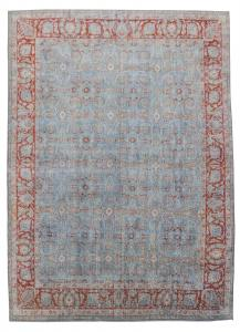 Multi Color Antique Tabriz- 10'x13'6