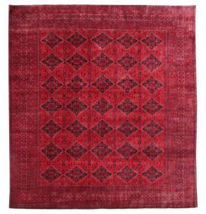 62694 Vintage Afghan Tribal Rug