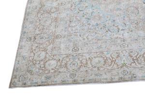 62818 Vintage Kashan Rug 10'4