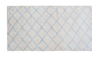 62894 Blue white Runner 10'2