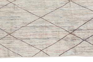 63087 Tribal rug 7'9