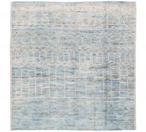 63089 Tribal rug 8'2