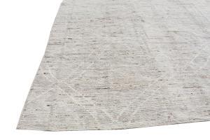 63090 Tribal rug 9'9