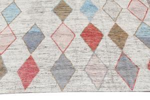 63096 Tribal rug 9'x11'7